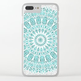 A Glittering Mandala Clear iPhone Case