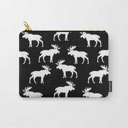 Moose Trot // Black Carry-All Pouch