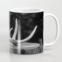 antler Mugs featuring Antler by Danielle Fedorshik