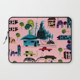CityView pink Laptop Sleeve