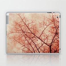 Tree In Red Laptop & iPad Skin
