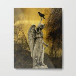 Golden Eclipse Metal Print