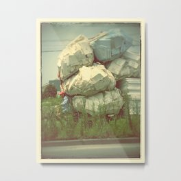 no load is too heavy Metal Print