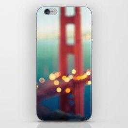Meet Me In San Francisco iPhone Skin