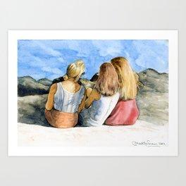 """""""The Three Mermaids"""" Art Print"""