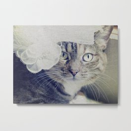 Silly Lily Metal Print