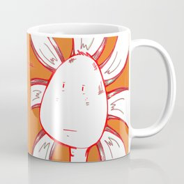 """Stoic Yes"" Flowerkid Coffee Mug"