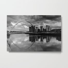 Millenium Bridge Metal Print