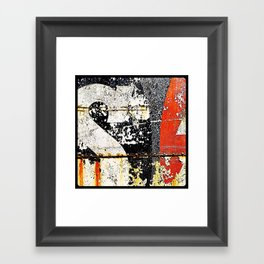 'TYPEDECAY' Framed Art Print