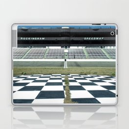 Rockingham Speedway Frontstretch Laptop & iPad Skin