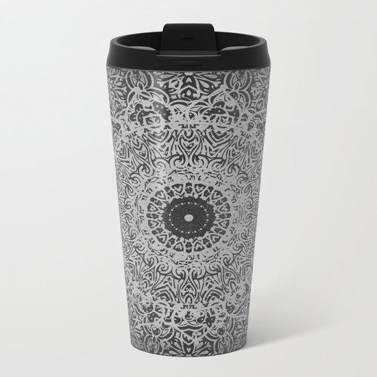 Ash Mandala Metal Travel Mug