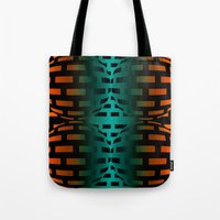 bond Tote Bags featuring Strong Bond by Andy Readman @ AR2 Studio