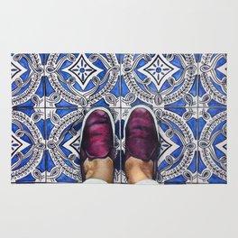 Art Beneath Our Feet - Ancona, Italy Rug