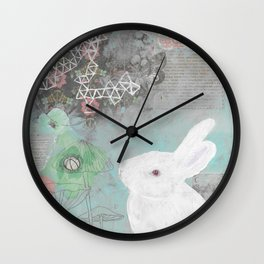 Emmeline With Fungi Wall Clock