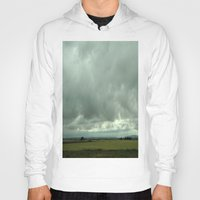 spain Hoodies featuring Spain Countryside by Rosie Brown
