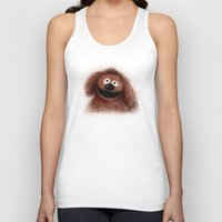 muppets Tank Tops featuring Rowlf, The Muppets by KitschyPopShop
