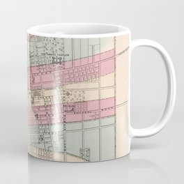 Vintage Map of Columbus Ohio (1868) Coffee Mug
