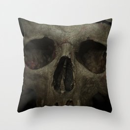 The victim Throw Pillow