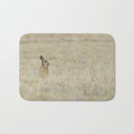 Brown hare Bath Mat