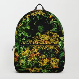 Electric Black-eyed Susans DPGPA151026a-14 Backpack