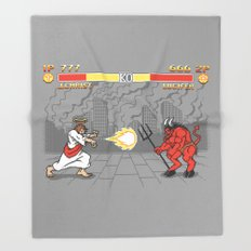 The Final Battle Throw Blanket