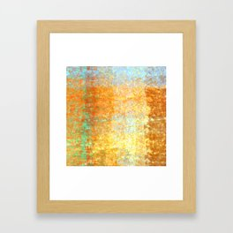 Textured Layered Abstract Framed Art Print