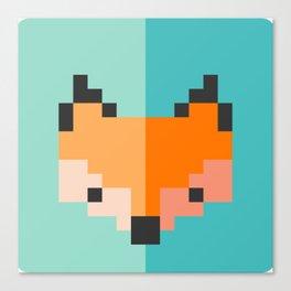 Zorro pixel Canvas Print