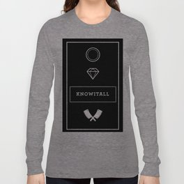 Knowitall Long Sleeve T-shirt