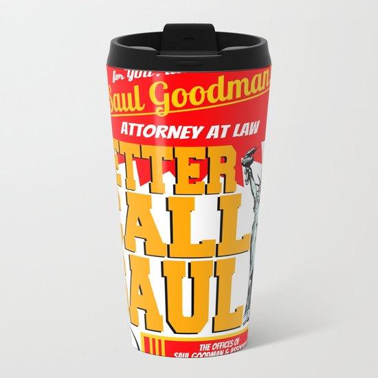 BETTER CALL SAUL  |  BREAKING BAD Metal Travel Mug