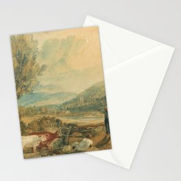 "J.M.W. Turner ""Lulworth Castle, Dorset"" Stationery Cards"