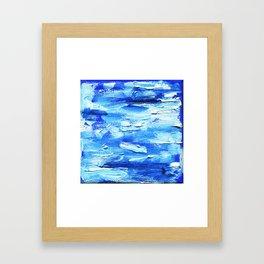 stroke Framed Art Print