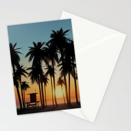 Newport Sunset in 3D Stationery Cards