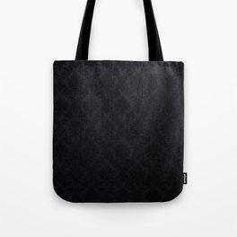 Black damask - Elegant and luxury design Tote Bag