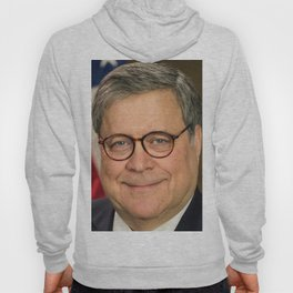 Attorney General William Barr Official Portrait Hoody