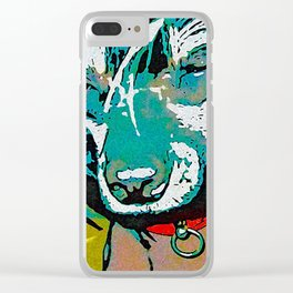 Chinese crested 9 Clear iPhone Case