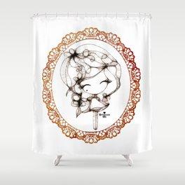 princessmi - sweet girl Shower Curtain