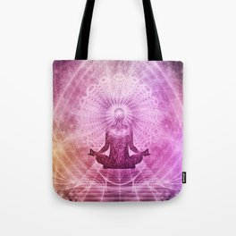 Meditation Zen Tote Bag