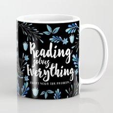 Reading Solves Everything Mug