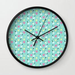 Party stars Wall Clock