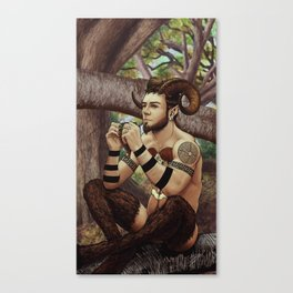 Pan Canvas Print