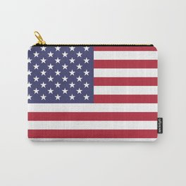 American Flag United States USA Patriotic Carry-All Pouch