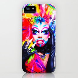 Glitz Glam Pride All Ovah Fx  iPhone Case