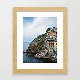 Cinque Terre 40 Celsius Framed Art Print