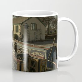 Golden Barges of Stratford Coffee Mug