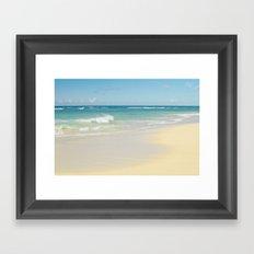 Beach Love the Secret Heart of Wonder Framed Art Print