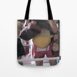Muay thai training iv Tote Bag