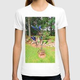 Glass and Steel Garden Art T-shirt