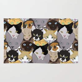 Cat takeover Rug