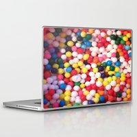 sprinkles Laptop & iPad Skins featuring sprinkles by NatalieBoBatalie