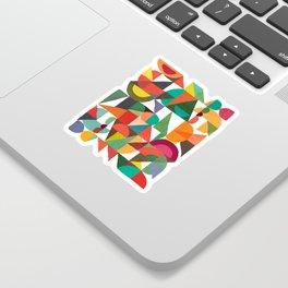 Color Field Sticker
